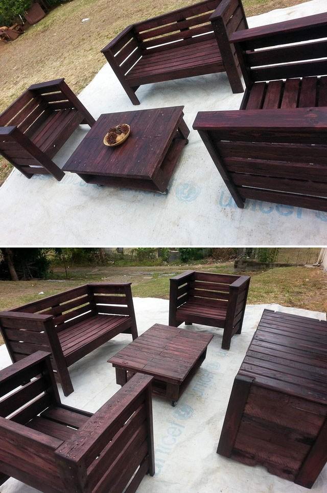 Exquisite Pallet Outdoor Furniture Ideas for Home Garden
