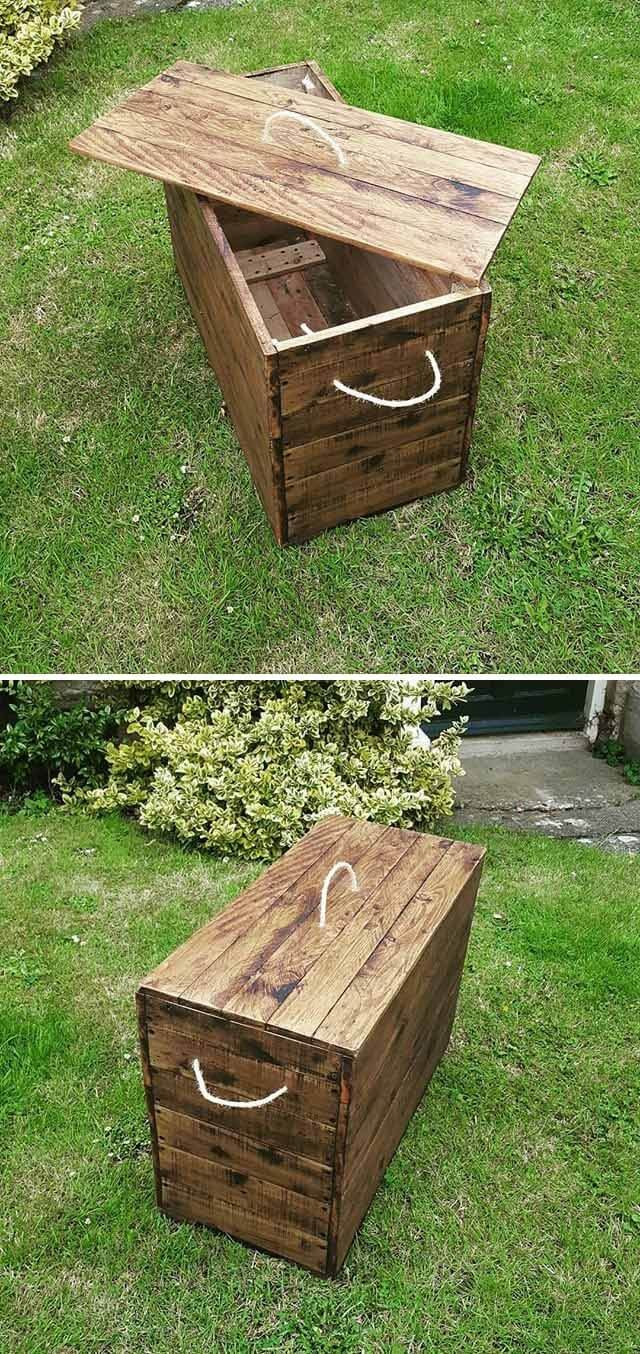 Classy and Creative Reuse Wood Pallet Projects