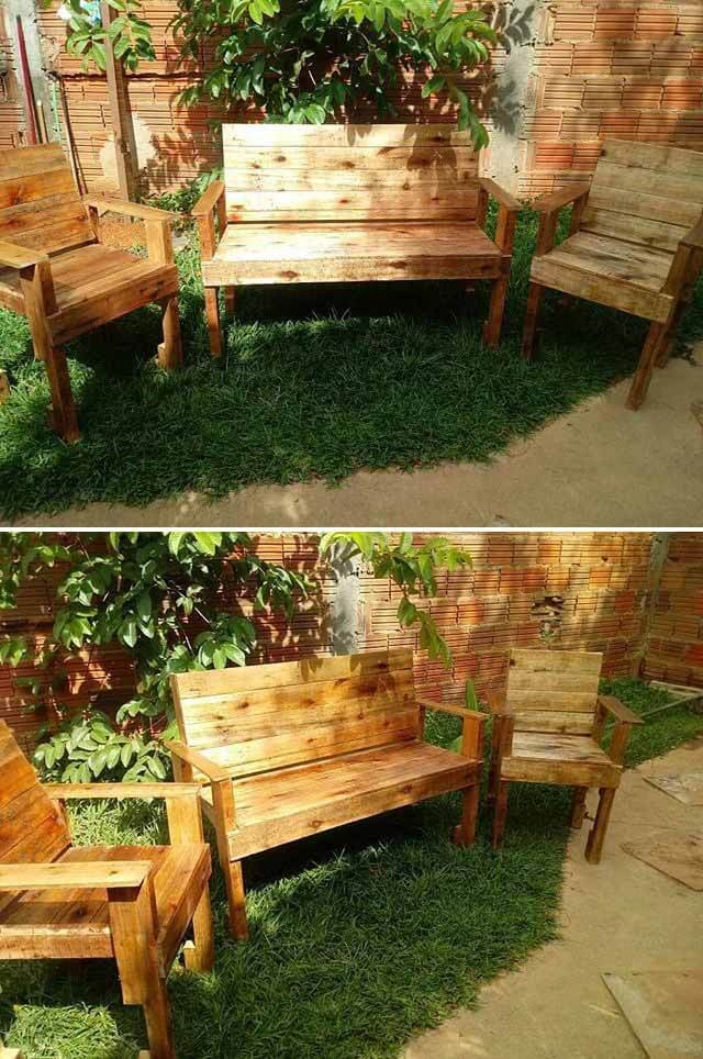 best pallet benches ideas