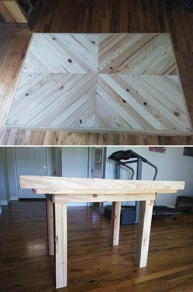 creative pallet project table ideas