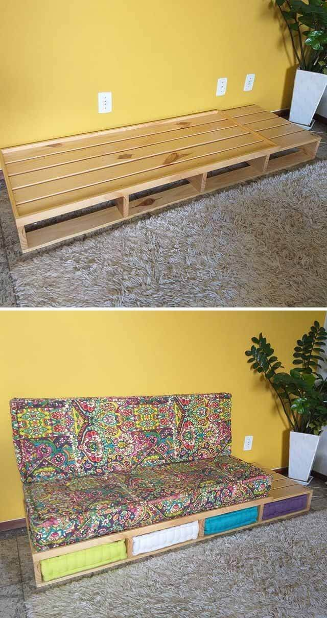 stunning pallet sofa project ideas