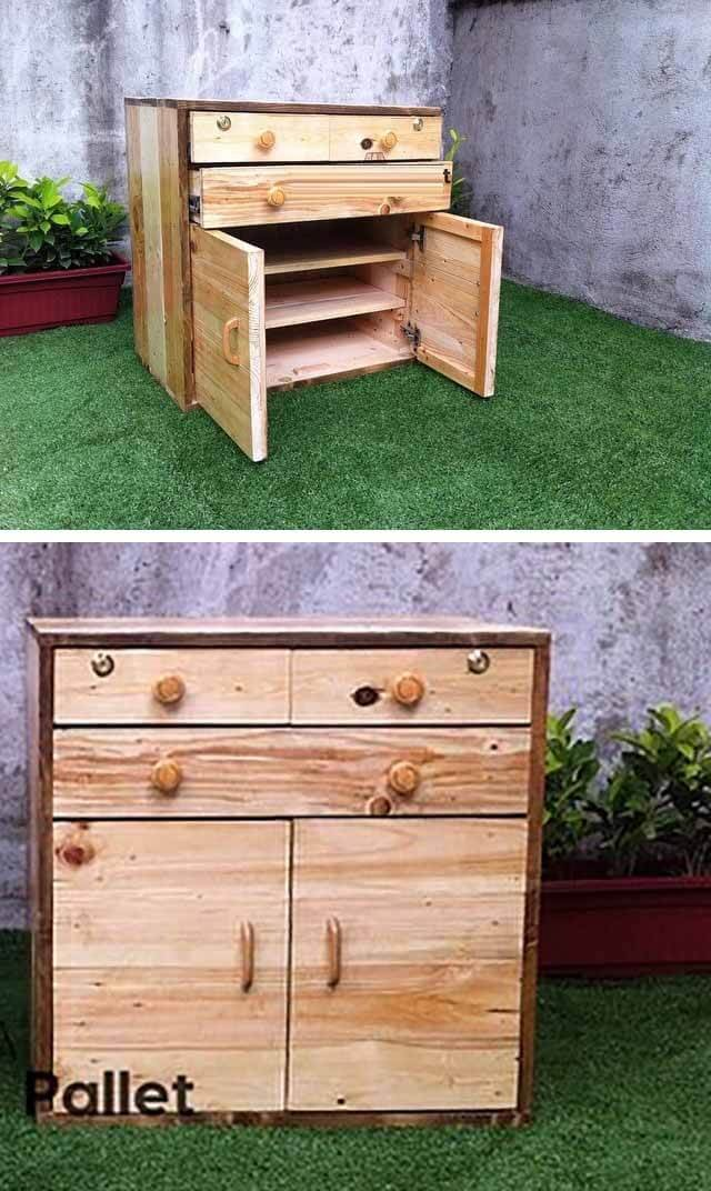 pallet cabinet project ideas