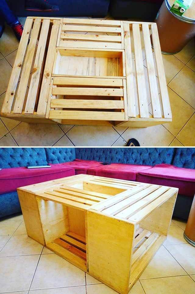pallet table project ideas
