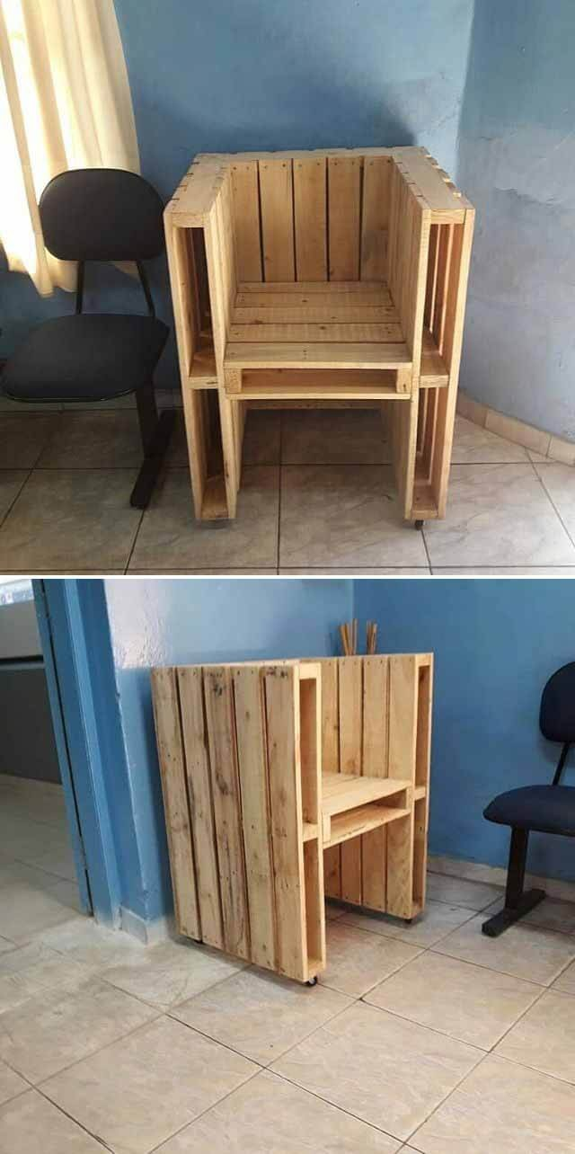 pallet simple chair ideas