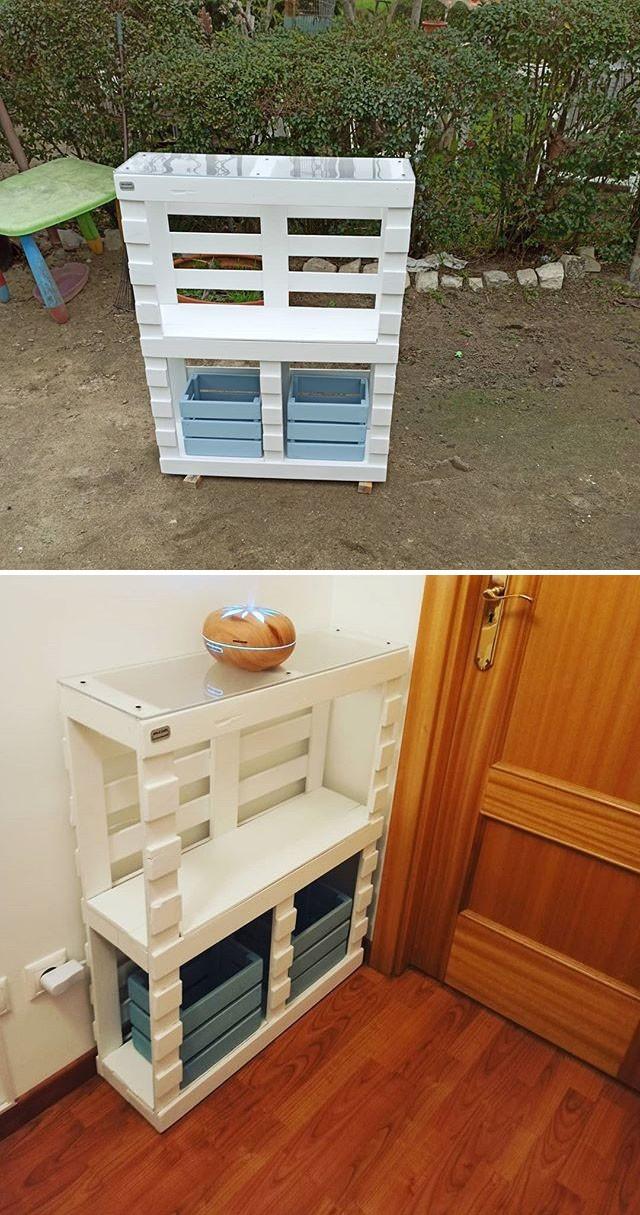 Pallet shelf projects