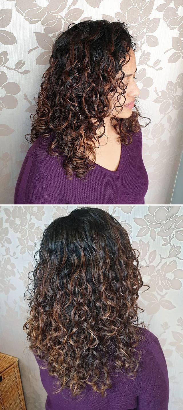 layerd curly women medium hairstyles ideas