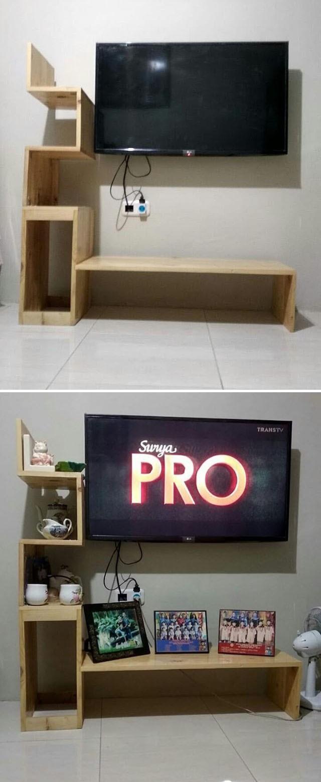 Pallet tv stand ideas