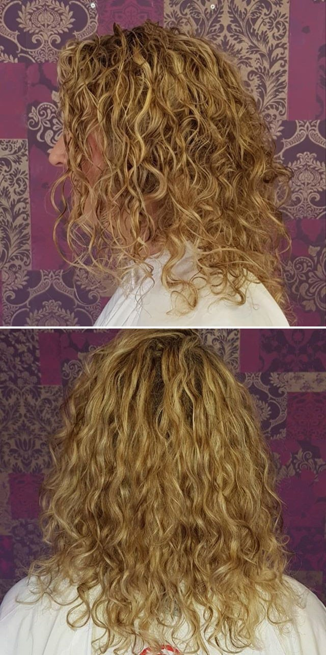 brown women medium curly hairstyles