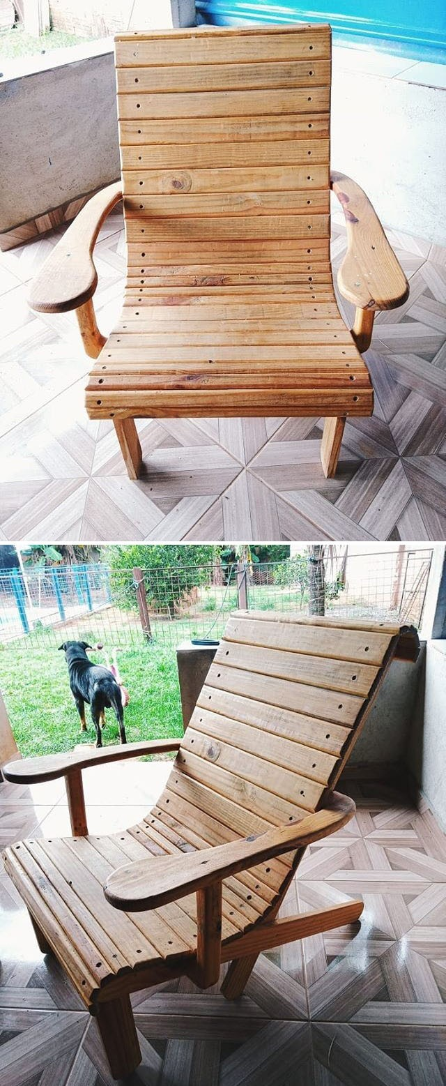 Pallet chair furniture ideas