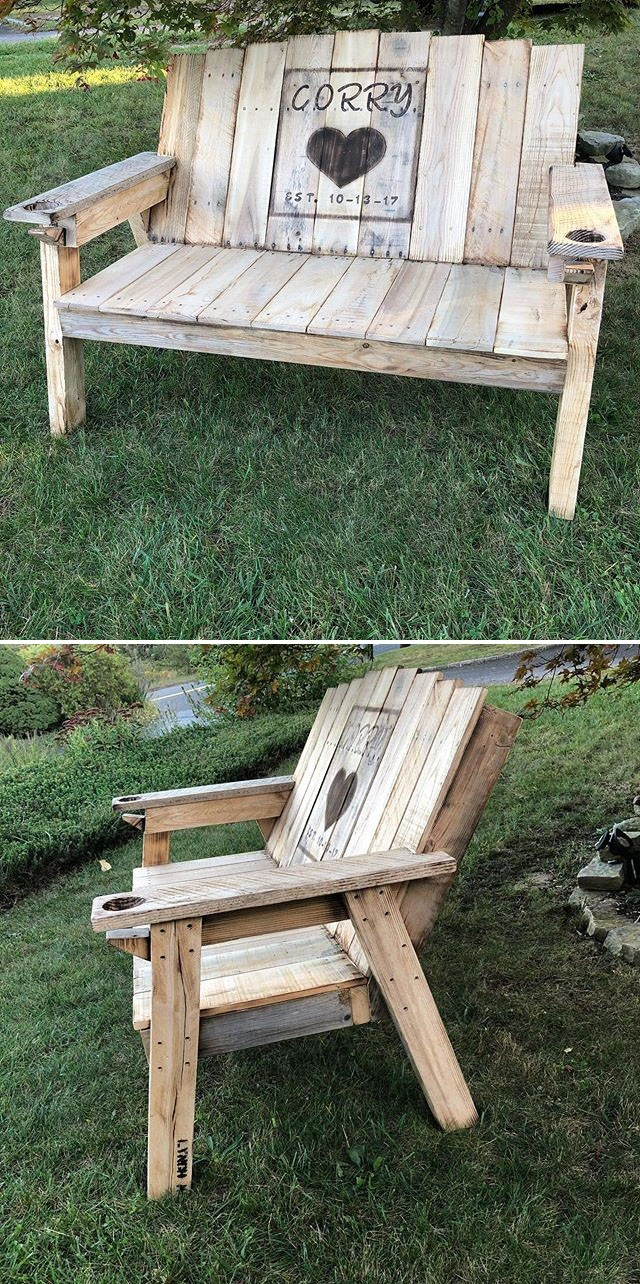 Pallet outdoor sofa furniture ideas