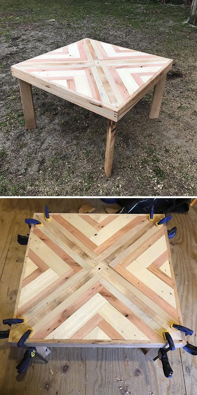 Pallet table furniture ideas