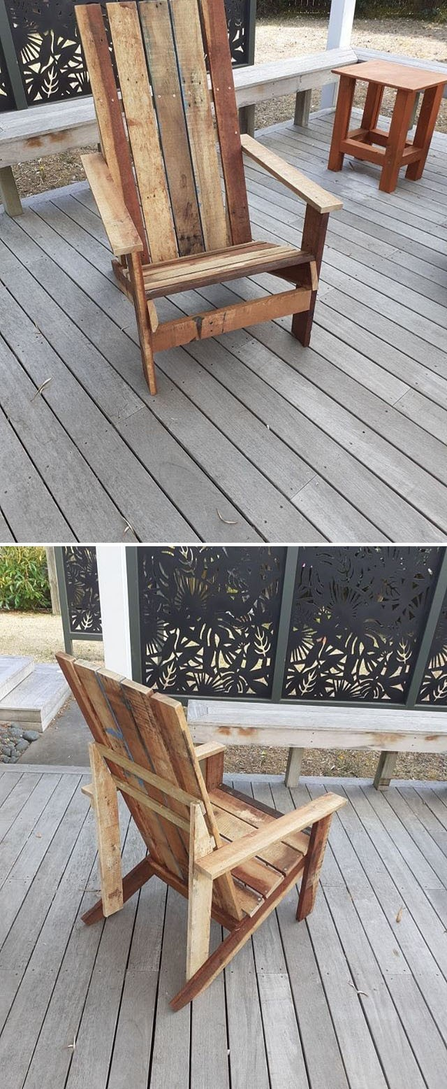 Pallet chair furniture ideas