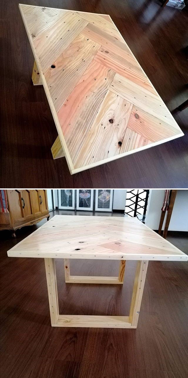 pallet table furniture ideas