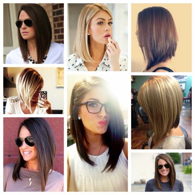 Asymmetrical bob Dazzling Hairstyles for Thin Hair to Try Now