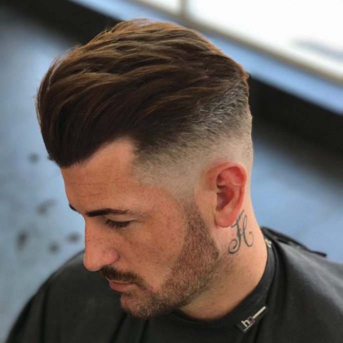 Slick and Part Cool & Stylish Hairstyles for Men