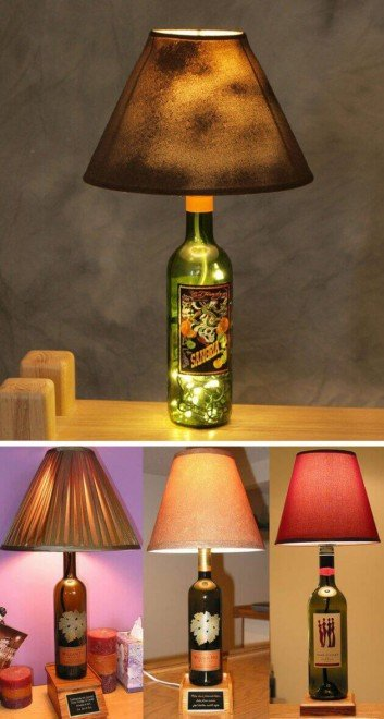 33 Cool Ideas How To Recycle Wine Bottles