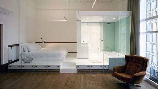 Stunning master bathroom showcasing a classic look