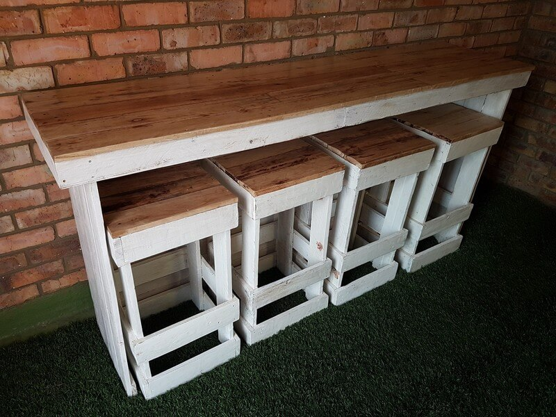 Economical home furnishing designs with the wooden pallet: