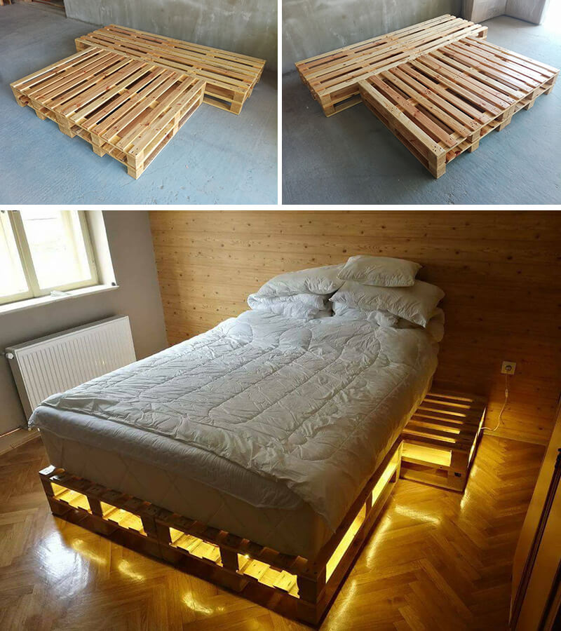 Sophisticated and economical bed designs
