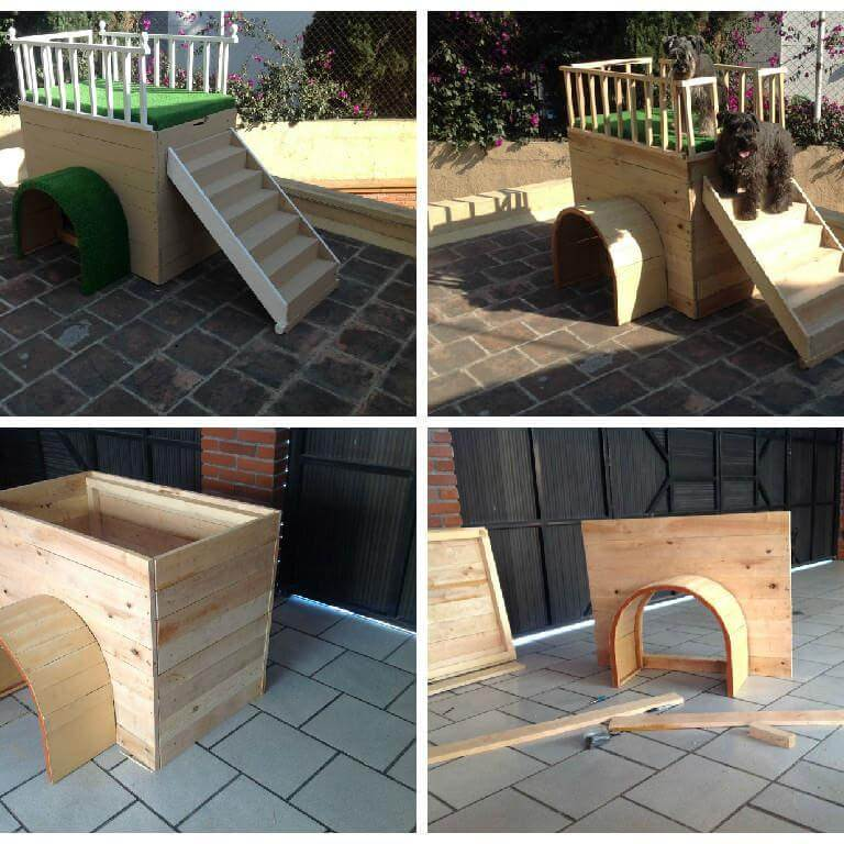 Pallet Dog House Ideas for your Pet
