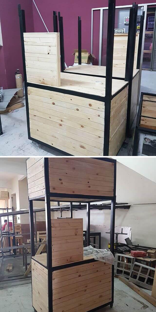 2018 Innovative Ideas For DIY Pallet Storage - Sensod
