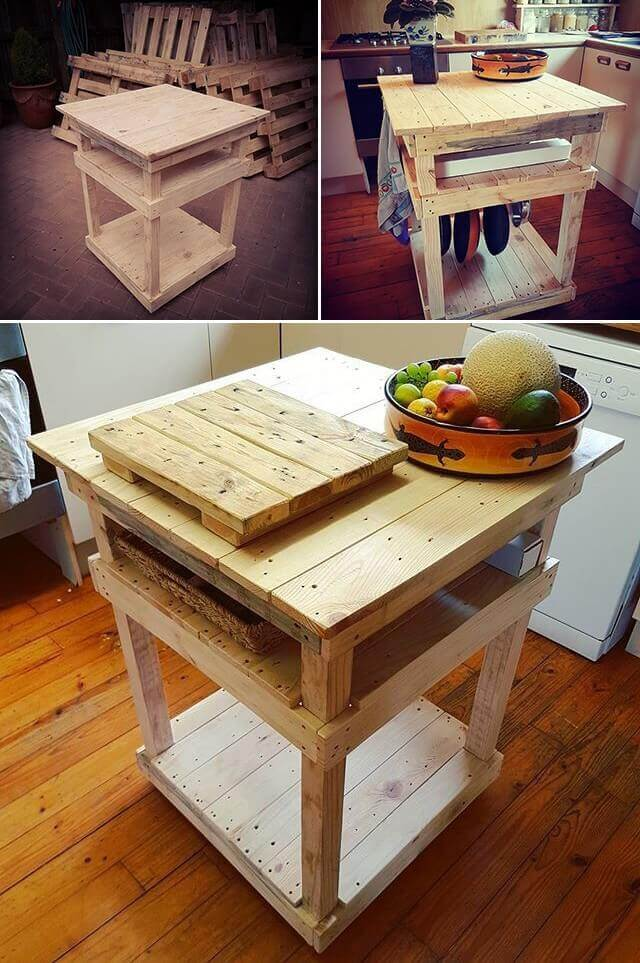 Pallet kitchen furniture for your home