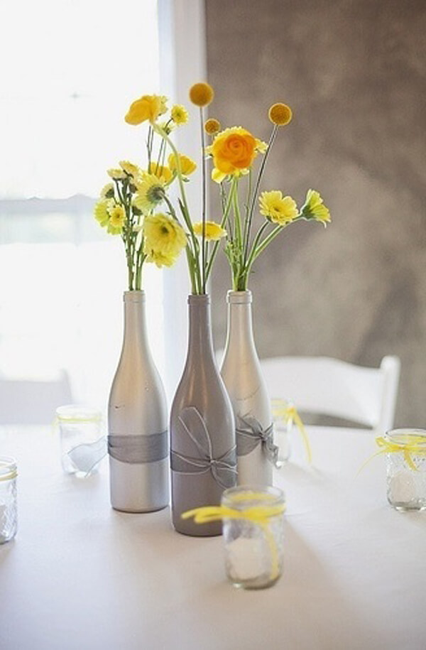 Wine Bottles Decorative Idea
